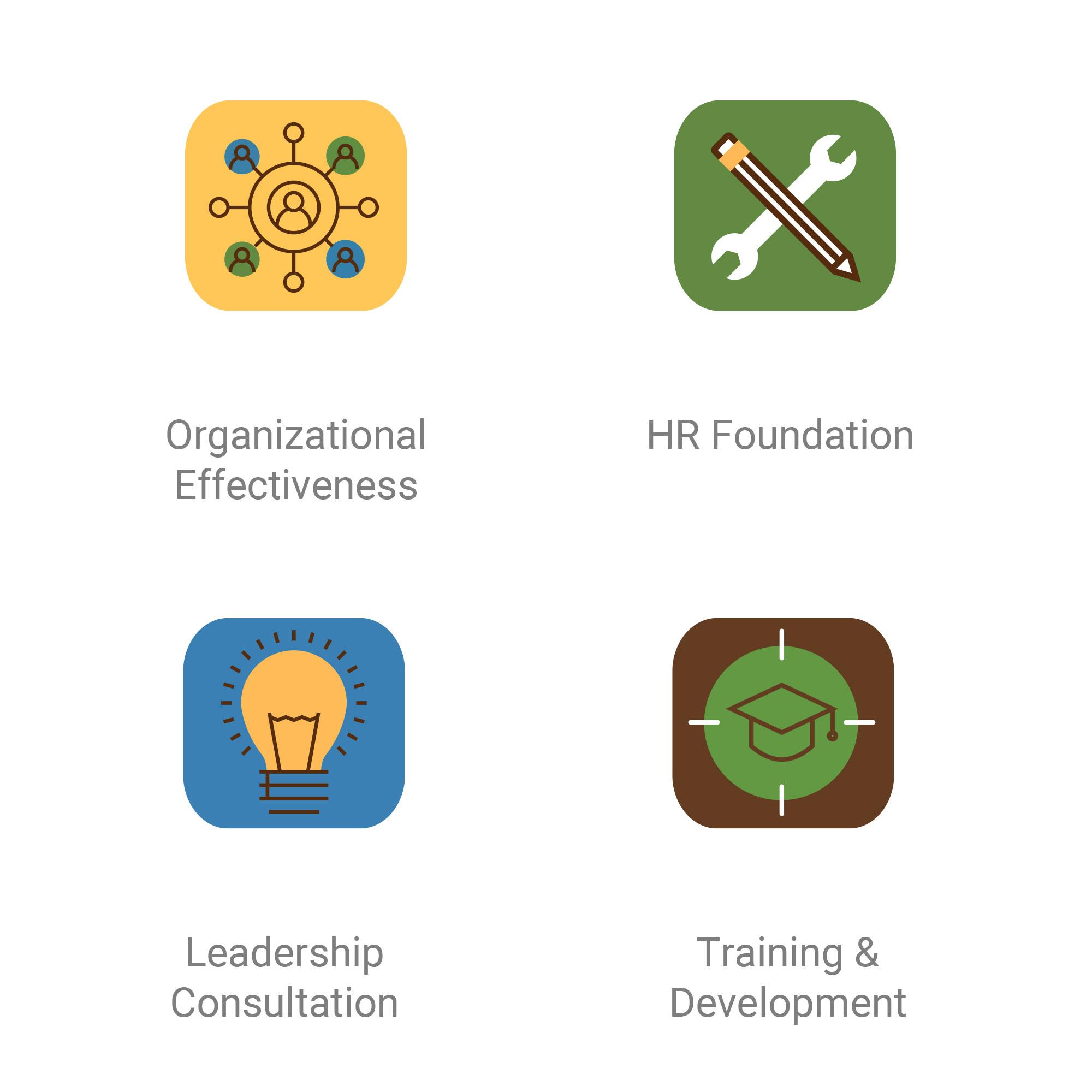 HR Advisors Group service icons