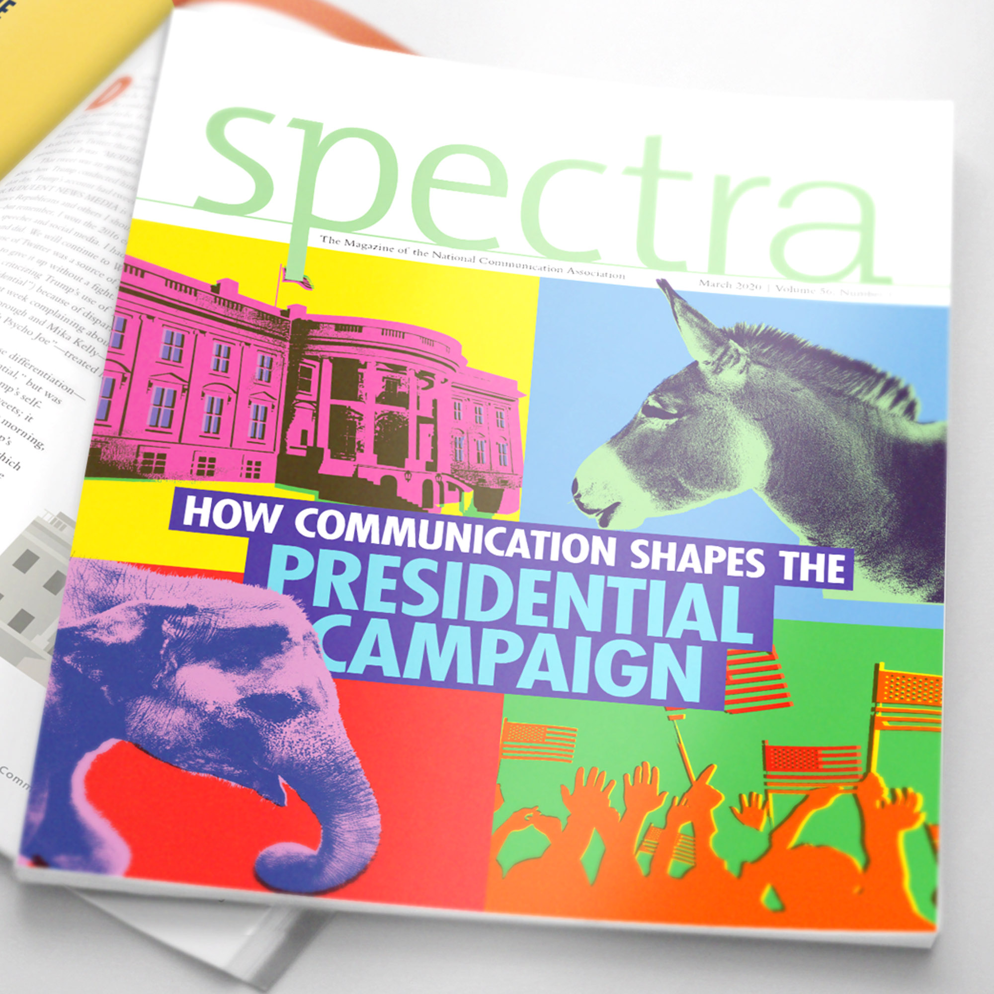 Spectra magazine cover design