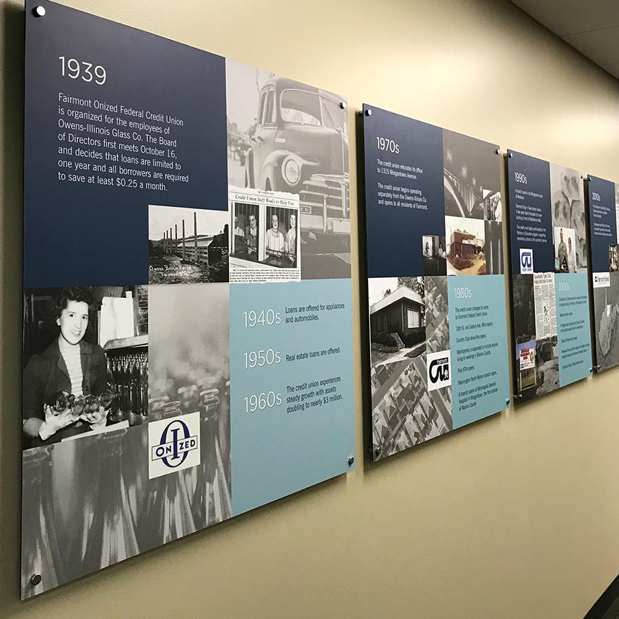 FFCU History Display