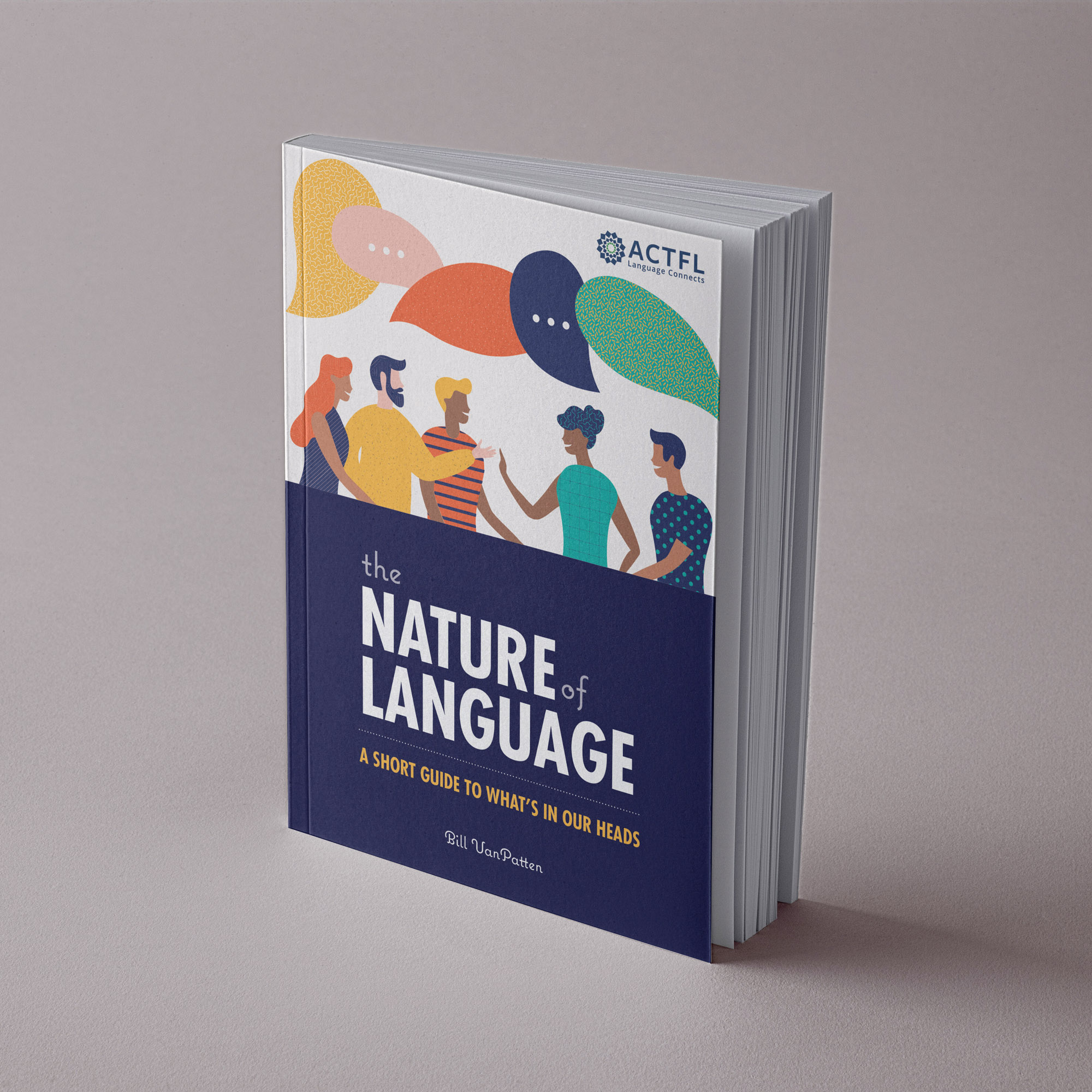 ACTFL The Nature of Language book cover